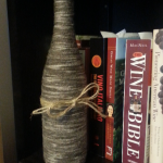 Iowa Decanted wrapped wine bottle
